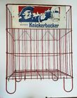 Vintage Ruppert Knickerbocker Beer Store Display Rack w/ Sign Rare Collapsable