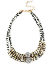 M. Haskell Necklace, Mixed Metal Ring Frontal Woven Necklace $68.5 NEW