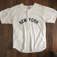 VINTAGE BABE RUTH JERSEY SZ. MENS XL New Yankees Mlb
