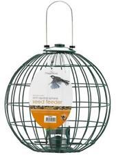 Metal Cage Anti Possum Small Bird Seed Feeder Round Sphere 34Hx26 cm diameter
