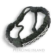 Lederarmband geflochten Armband Leder Leather Bracelett B064