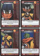 *Dragon Ball Z DBZ Panini - FULL SET Lord Slug Level 1-4 U69 U70 U71 U72 *MINT!!