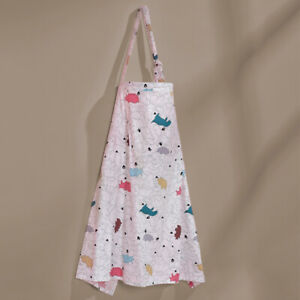 Apron Multipurpose Breastfeeding Nursing Cover Baby Mother Soft Cotton Blend