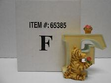 Disney Classic Winnie the Pooh Porcelain Alphabet Letter F featuring Tigger