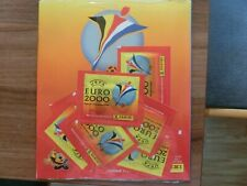 PANINI  EURO 2000 * STARTER ---> LEERALBUM + 7 PACKS sealed OVP