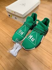 PHARRELL NMD HUMAN RACE GREEN ADIDAS SZ 13 AUTHENTIC