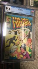 The New Mutants #9 CGC 9.4 White Pages 1983 Marvel 1st Appearance of Selene
