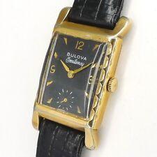 Bulova Excellency Double Herren Armbanduhr - 1930/1940er Jahre ART DECO DESIGN