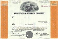 Gulf States Utilities Company, Texas, 1978 (10.000 Shares) !!
