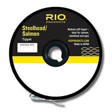 30 Yard spools Rio Steelhead & Salmon High Strength Tippet Leader Material