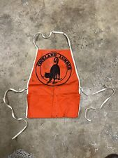 Vintage Copeland Lumber Workers Apron Hardware Store Tools (G12)