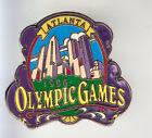 RARE BIG PINS PIN'S 3D .. OLYMPIQUE OLYMPIC ATLANTA 1996 CITY VILLE ~15