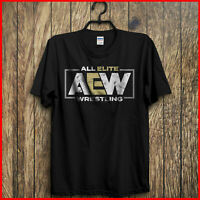 All Elite Wrestling Aew T-Shirt Black Kenny Omega Young Bucks S-6XL Tee For Fan