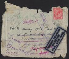 Uk Gb 1916 Wwi Damaged On Ship W/In The Mediterranean Urgent Lock Down Uncertain