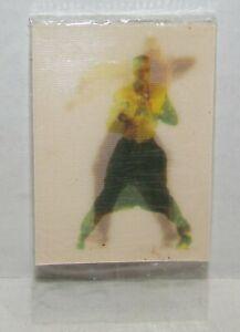1990 Post Cereal MC Hammer Lenticular Card, sealed, Canadian cereal premium