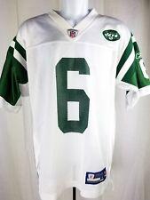 Mark Sanchez New York NY Jets Reebok Jersey S #6 White Green Football NFL