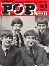 Pop Weekly Magazine 19 October 1963    The Beatles   The Caravelles   Billy Fury