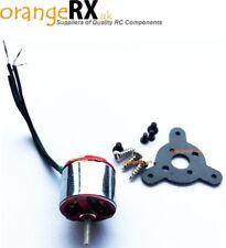 Micro RC Brushless Outrunner Motor 3000kv ADH50XL 10v 4A Plane Heli orangeRX -uk