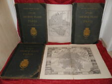 ALPHAND Atlas Anciens Plans Paris 1880 DEHARME VAUGONDY DELAGRIVE JAILLOT CAILLE