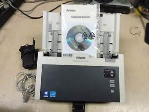 AVISION AD240 Duplex USB 40 PPM 300DPI Document Scanner INCL PSU - ORIGINAL BOX
