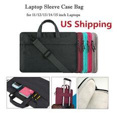 """15.6� Laptop Shoulder Messenger Bag Notebook Carrying Case Briefcase 13.3�14"""" Us"""