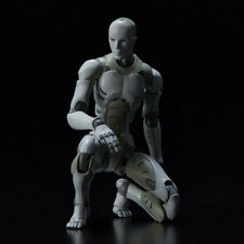 "1/12th East Asian Synthetic Heavy Worker Male Body Model for 6"" Actionable Doll#"