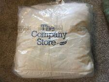 "The Company Store Legends Geneva Down Comforter medium warmth 72""x92""  $399"