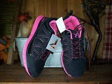 AIR LADIES ATHLETIC SHOES SIZE 6.5M COLOR BLACK PINK WOMENS CASUAL SNEAKERS NEW