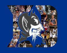 Duke Blue Devils Basketball NCAA 8 x 10 Player Photo Collage
