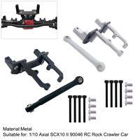 NEW Hot Racing Axial SCX10 II Aluminum Steering Servo Mount Bracket HRASCXT2401