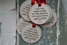 In Pink Ink Christmas gift tags