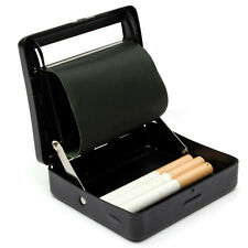 2in1 Metal Automatic Cigarette Tobacco Rolling Machine Roller Roll Box Case Tin