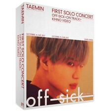Shinee Taemin-[Off-Sick<On Track>]1st Solo Concert Kihno Video Kit+Bag+Book+Card