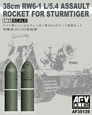 AFV Club 1:35 Scale 38cm RW6-1 L/5.4 Assault Rocket For Sturmtiger AF35139