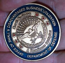 1999 Department Defense Small Disadvantaged Business New Orleans Challenge Coin
