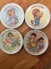 4 Small 5 Inch Avon Mothers Day plates 1981 1982 1983 1984 Mint Condition