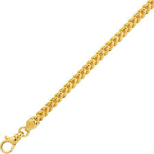 "14k Yellow Gold Square Franco Link 24"" 3.2 MM 12 GRAMS  chain/Necklace SFR080"
