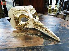 VENETIAN STYLE DOCTORS PLAGUE MASK. Elegant Vintage Look. Masquerade, Steampunk