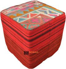 Valore esclusivo ORIENT KILIM SGABELLO Kilim sedile cubo Tavolino 50 x 50 x 50 cm