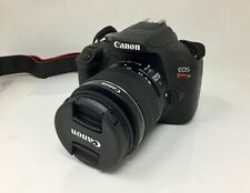 Canon EOS Rebel T7 24.1MP DSLR Camera with 18-55mm Lens **LOW CLICKS**