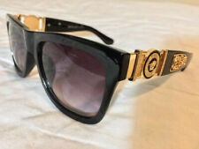 New Genuine Versace Medusa High Quality Luxury Unisex Fashion Black Sunglasses