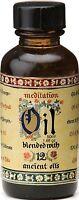 2 x 50 ml Bottles Meditation Fragrance Burner Oil Blend of 12 Essential Oils