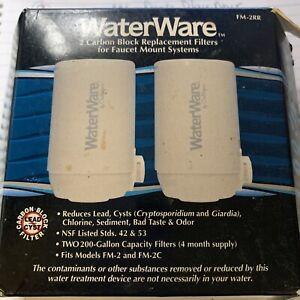 Culligan Waterware Replacement Faucet Filters FM-2RR Models FM-2/FM-2C Sealed