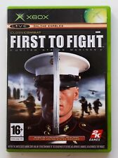 FIRST TO FIGHT CLOSE COMBAT - XBOX - PAL - UNITED STATES MARINES