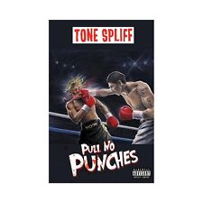 "Tone Spliff ""Pull No Punches"" Chrome Blue Cassette / Limited Copies"