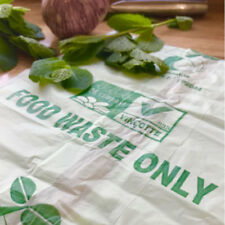 KITCHEN CADDY LINER FOOD WASTE COMPOST BAGS LARGE (30 LITRE)  60 BAGS = 3 rolls