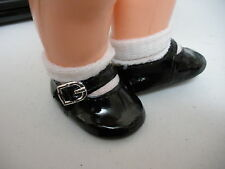 Fits 16 Inch Terri Lee Doll....Black Mary Janes Shoes...D822