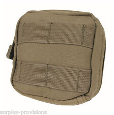 Condor MA77 4x4 Tactical Utility Pouch Tan - Molle pack for tools, mags etc