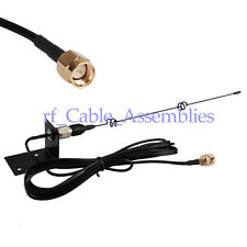 5db 3G UMTS/GPRS Antenna with SMA plug male connector wall mount RG174 5M cable