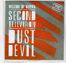 (EC77) Mission of Burma, Second Television / Dust Devil - 2012 DJ CD